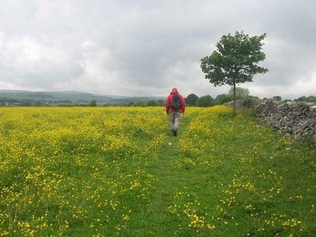 walking and talking in the peak district ….