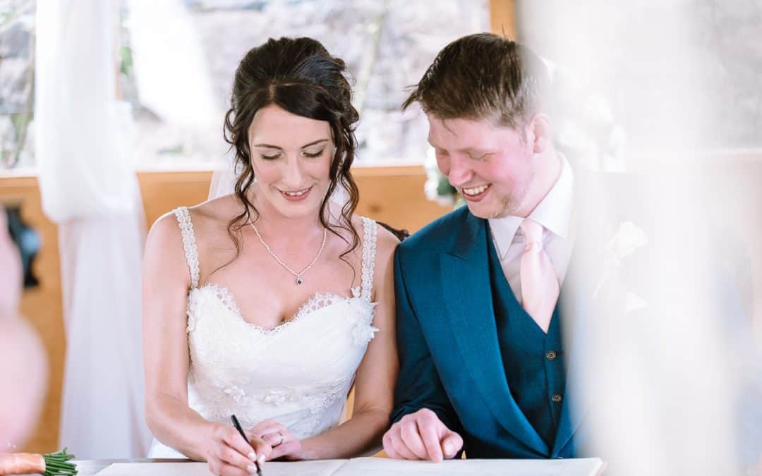 Rhiannon & Jamie's Wedding at Pentre Mawr Country House, North Wales