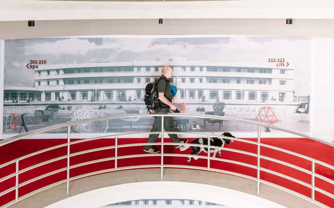 A weekend treat at the Midland Hotel in Morecambe