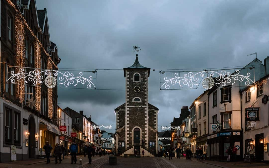 Pre-Christmas weekend away in Keswick, Cumbria