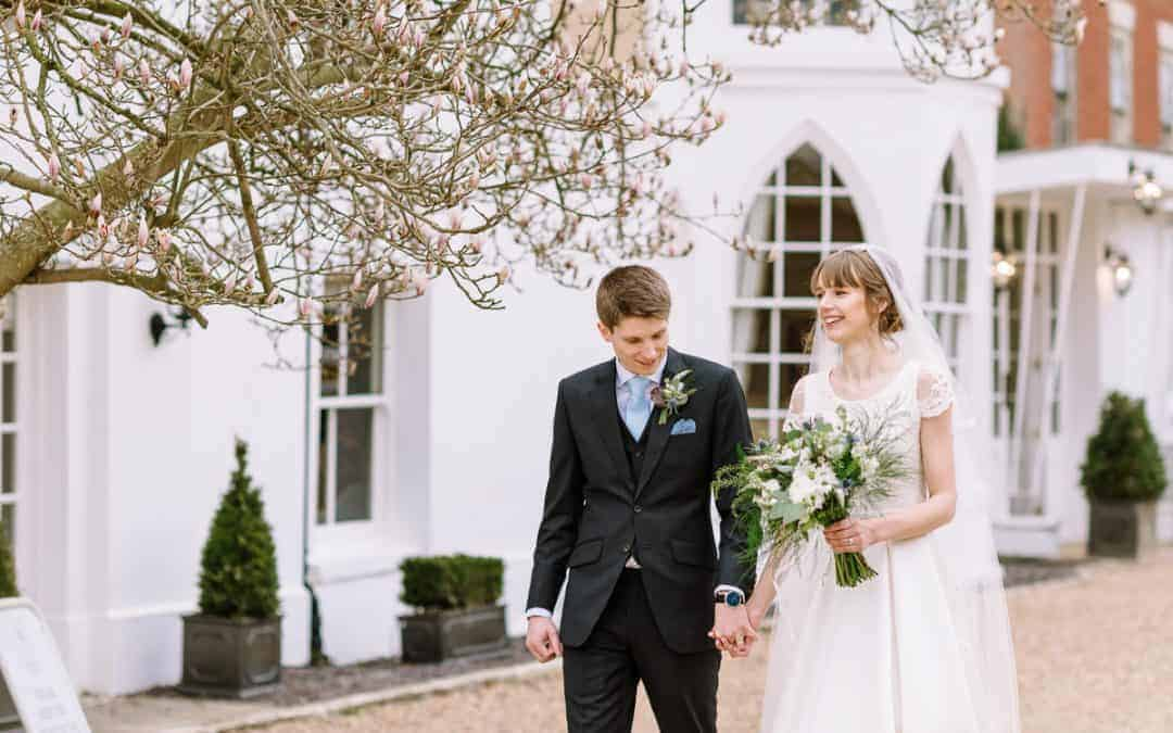 Molly and James' Spring Wedding at St. Thomas More Church, Coventry and Warwick House, Southam